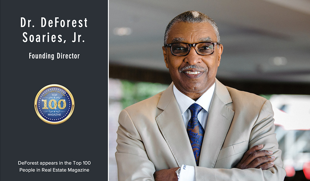 Dr. DeForest Soaries, Jr. Appears in the Top 100 People in Real Estate Magazine.